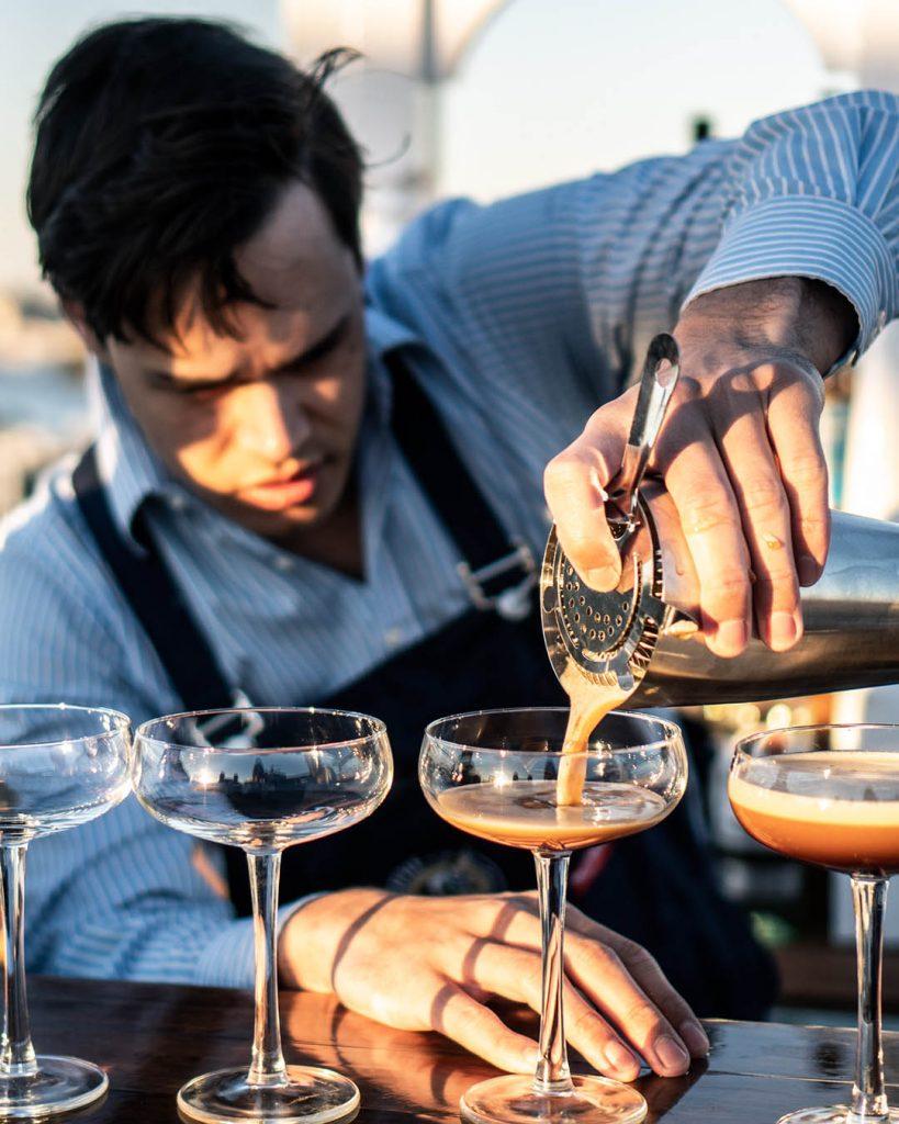 Pouring Martini Option